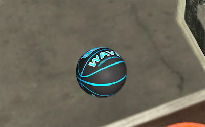 NBA 2K13 Wilson Black Basketball Patch