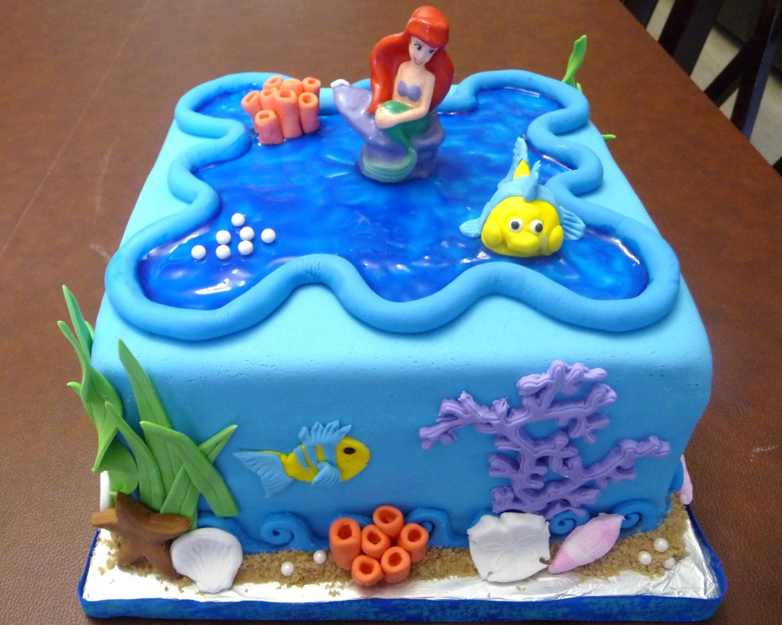 Ariel Cake Decorations 15 Best Images About Ariel Party On Pinterest Little Mermaid