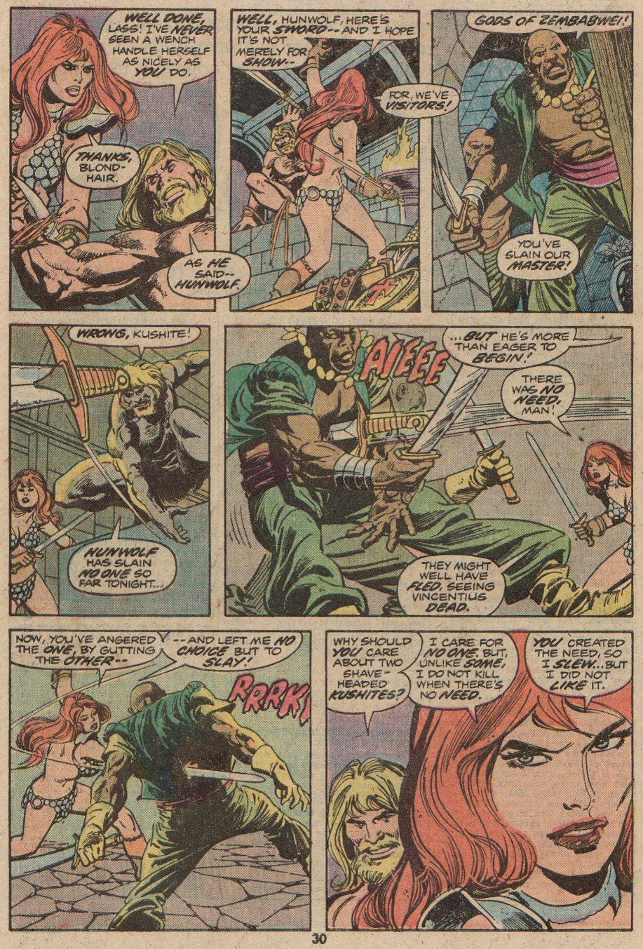 Conan the Barbarian (1970) Issue #48 #60 - English 19