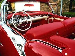 1957 Olds Starfire 98 Holiday Convertible Coupe