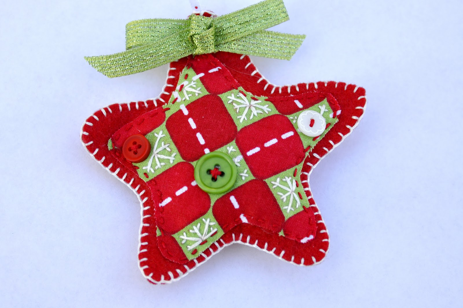 Dual perspicacity felt christmas ornaments for Christmas decoration ideas to make