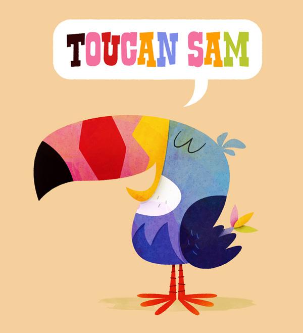 The art of matt kaufenberg toucan sam for Toucan sam