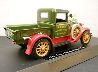 base maqueta ford Panel Truck