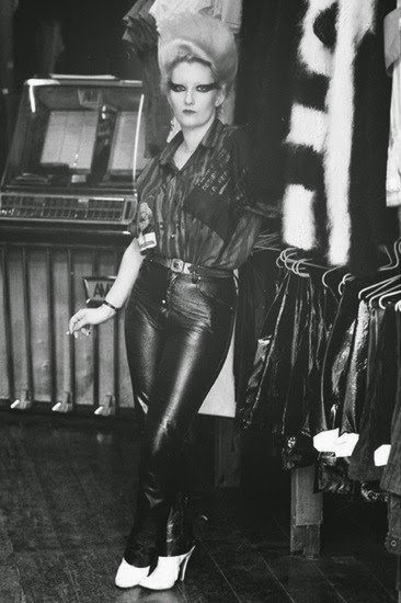 punk icon jordan in vivienne westwood's sex shop