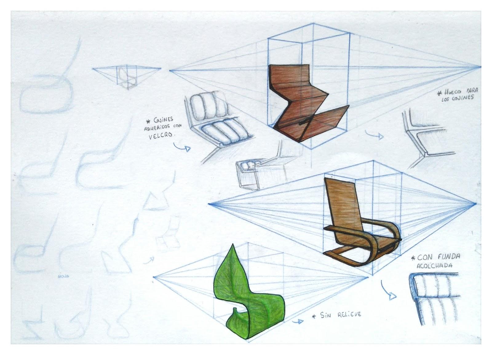 Mi cuaderno virtuart actividad 08 redise o de la silla for Silla zig zag planos