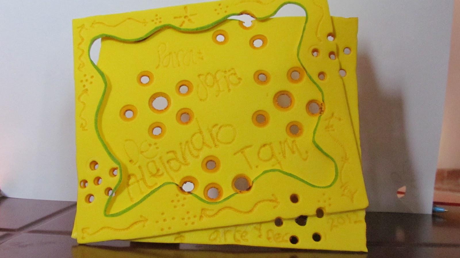 Arte y decoraci n paso a paso - Como adornar una cartulina ...