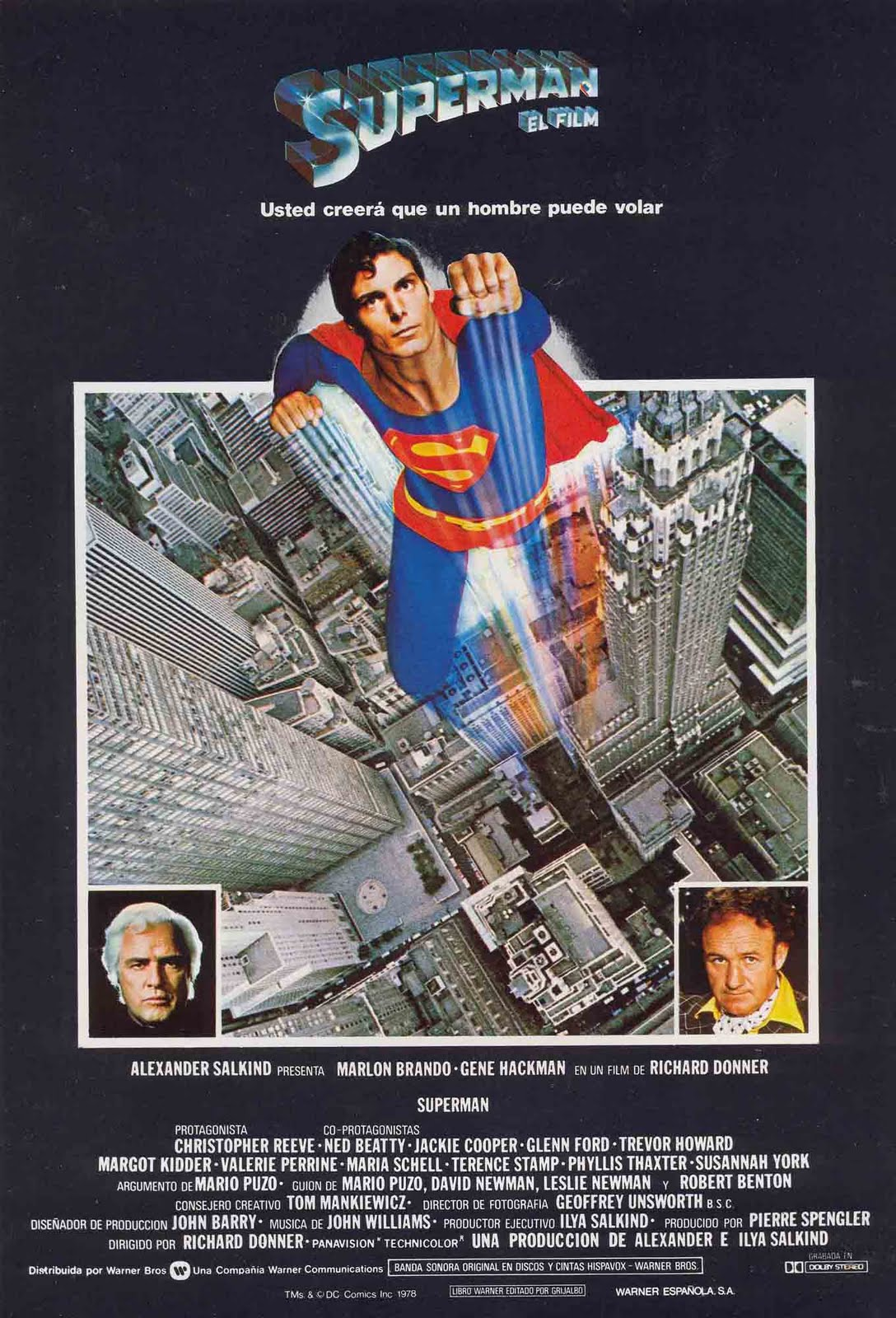 MOVIE POSTERS: SUPERMAN (1978)