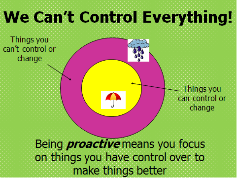 Confessions of a School Counselor: Be Proactive!