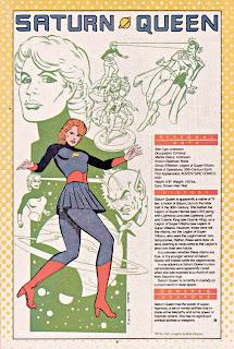 Reina Saturno ficha dc comics