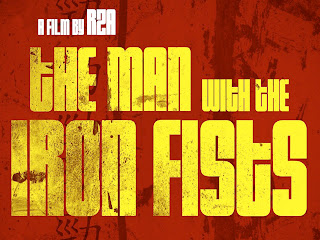 The Man with The Iron Fists Typography HD Wallpaper