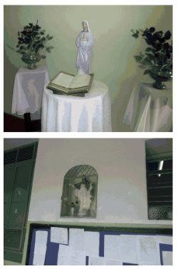 Imagens de santos de escola de Formiga