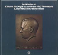 Dos obras históricas para Trautonium se integran en el recopilatorio de Hindemith, 7 Triostücke für 3 Trautonien y Konzertstück für Trautonium mit Begleitung des Streichorchesters