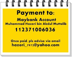 Deposit & Payment to: