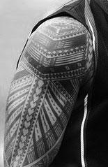 samoan inspired shoulder tattoo design que la historia me juzgue. Black Bedroom Furniture Sets. Home Design Ideas