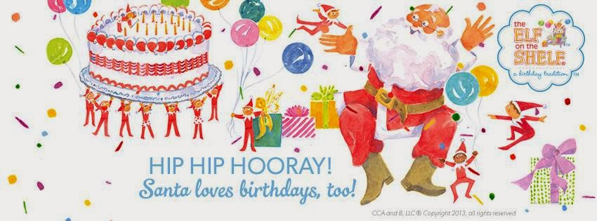 Hop, Stop and Shop: Elf on the Shelf: Birthday Tradition