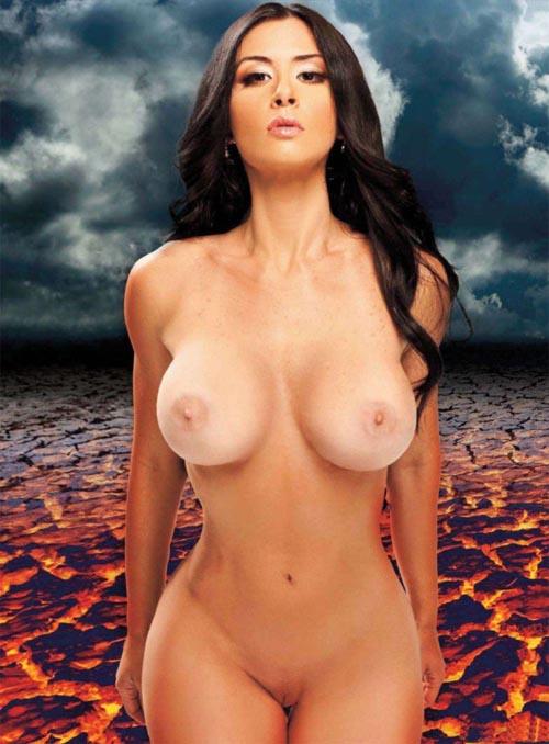 Diosa Canales Desnuda Ardiente Y Angelical