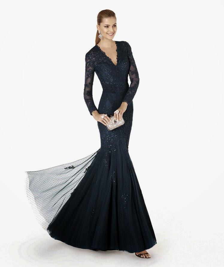 dantel gece elbiseleri 2015