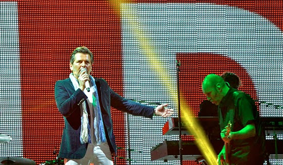 Thomas Anders took part in a concert in support of military operations in Ukraine