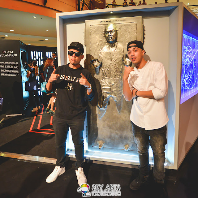 Joe Flizzow and SonaOne @ Star Wars x Royal Selangor Collection Preview