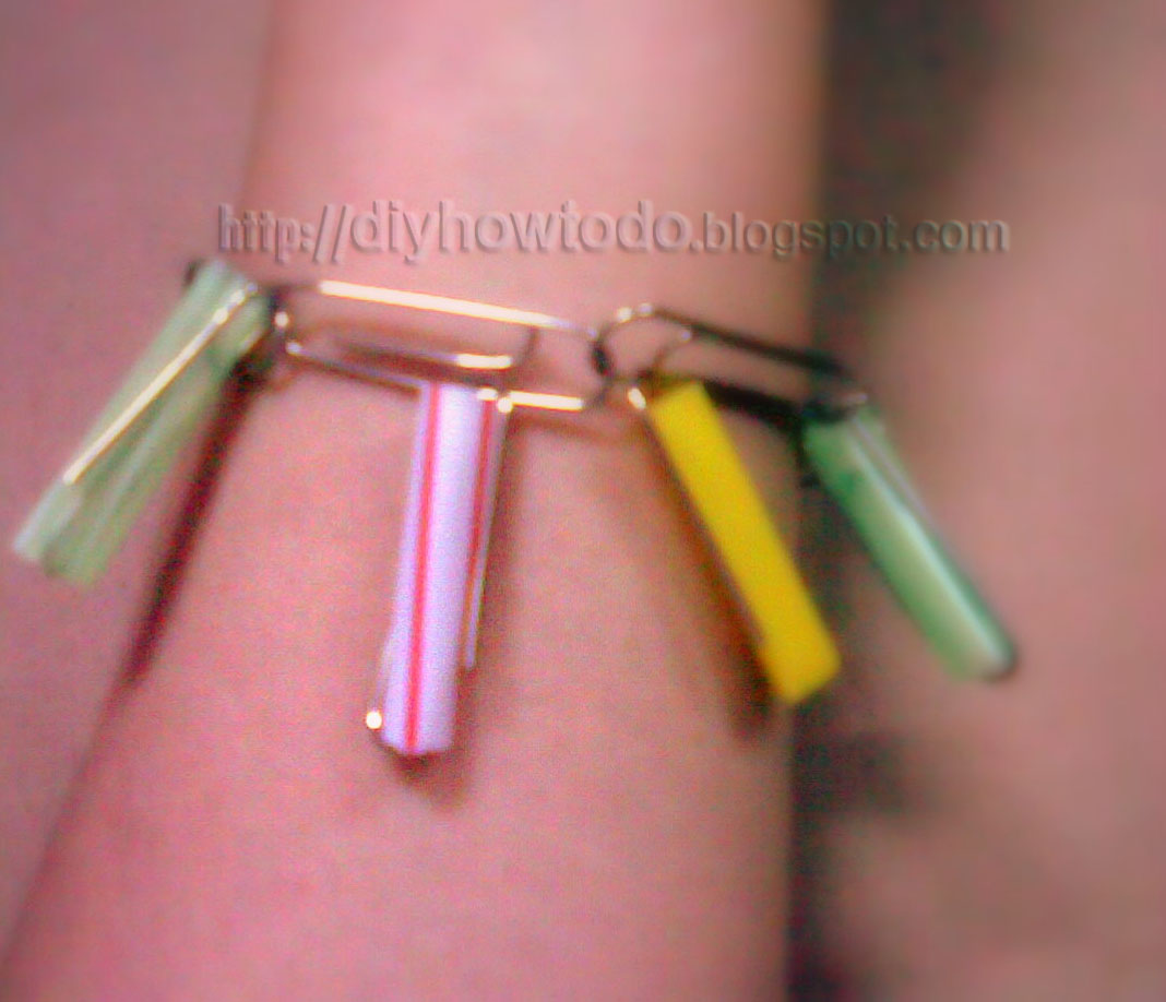 make bracelet,  strange bracelet,fun crafts,fun bangle, bracelet for kids,crafts for kids,idea recycle crafts
