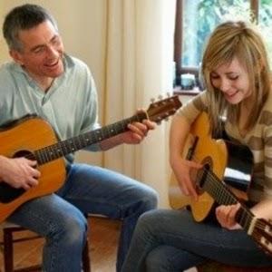 Cara Bermain Gitar Akustik Petik