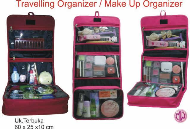 Traveling Organiser Make Up Organiser Murah Dewi S