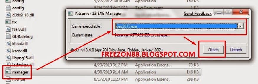 error not working game pes 2013