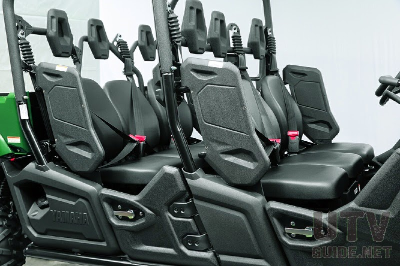 6-Individual bucket seats