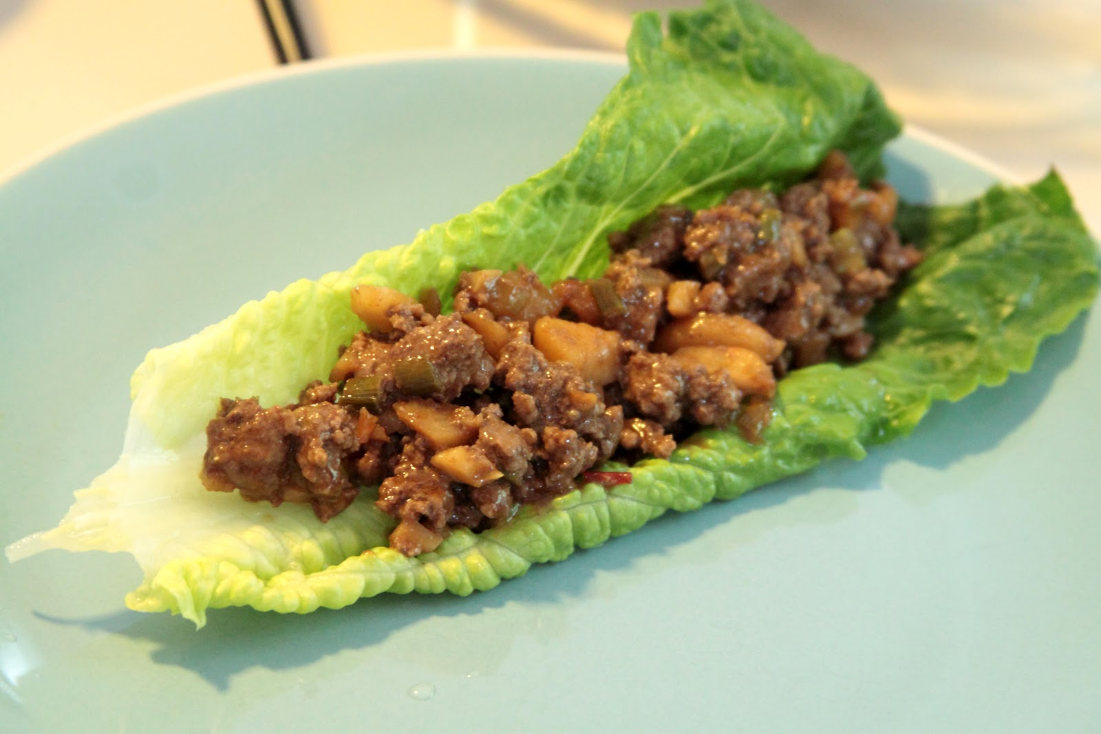 Our Family Bistro: Asian Beef Lettuce Wraps
