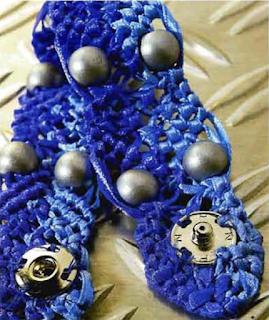 Комплект украшений техникой макраме: пояс и браслет