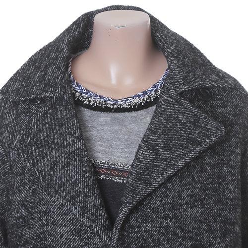Long Tweed Coat Underwing