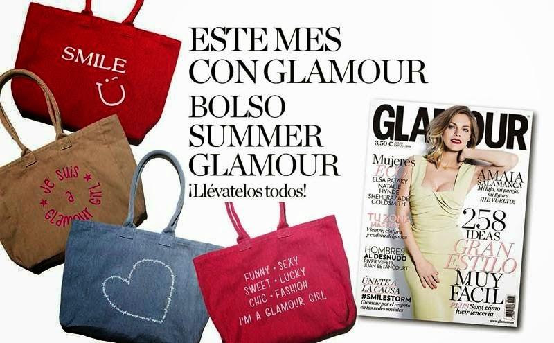 Regalos revistas julio 2014: Glamour