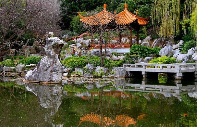 Jardines chinos fotos imagui for Jardin chino