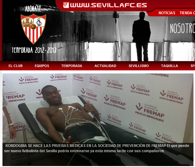 Kondogbia u Sevilli, otpao iz Juventusovih kombinacija