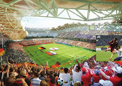 Rostov on don stadium fifa world cup 2018 russia mundial fútbol rusia