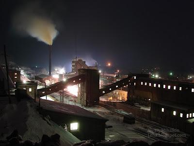 Завод поселка Магнитка