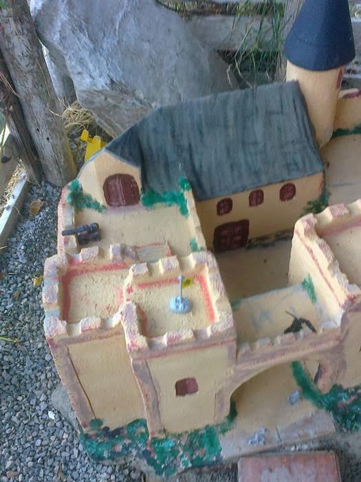 castillo de cemento