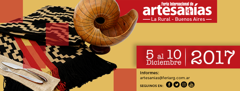 Feria de Artesanías La Rural 2017