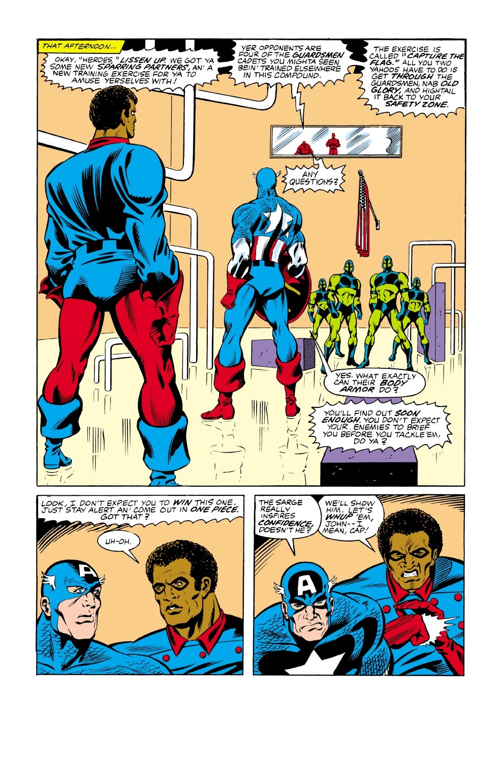 Captain America (1968) Issue #334 #263 - English 10