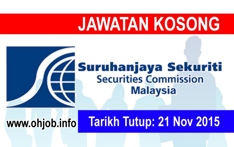 Jawatan Kerja Kosong Suruhanjaya Sekuriti (SC) logo www.ohjob.info november 2015