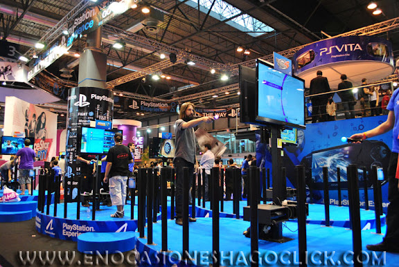 GAMEFEST 2011 feria del videojuego española fotos
