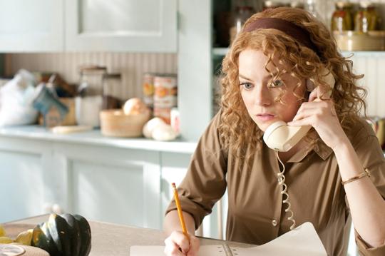 telephone calling emma stone