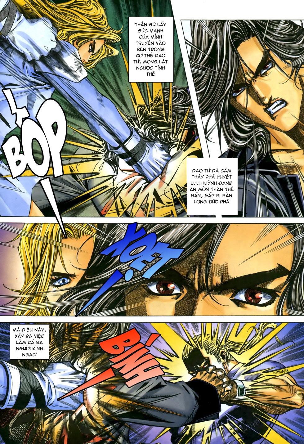 X Bạo Tộc chap 33 - Trang 18