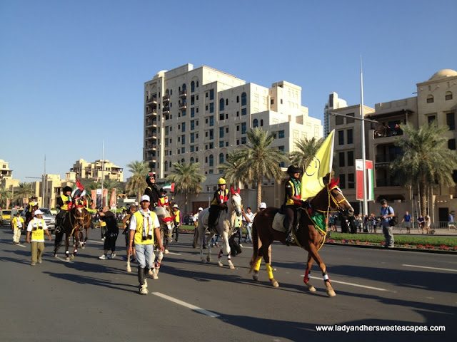 UAE NAtionals Riding Horses