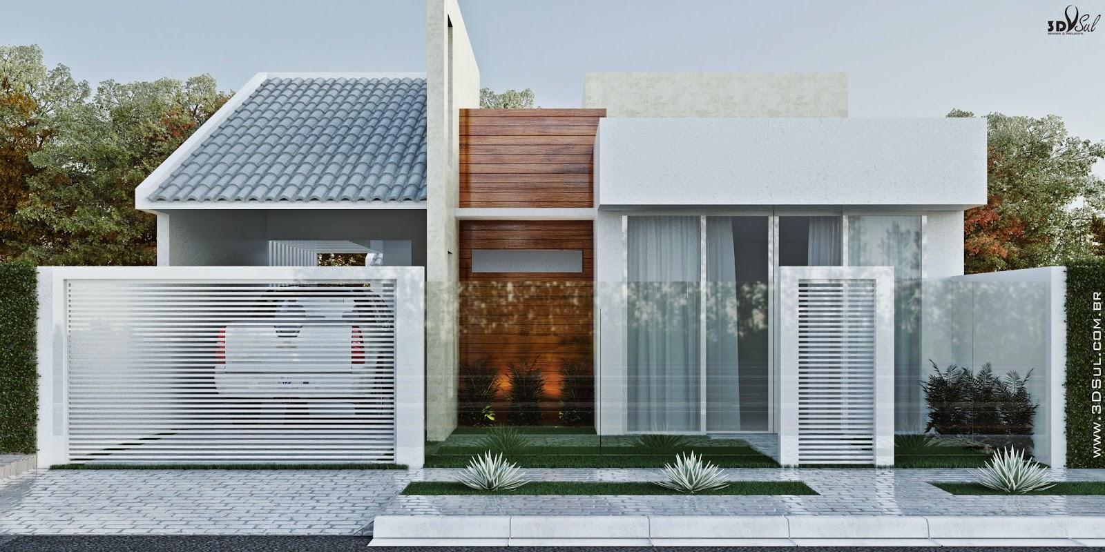 3dsul Maquete Eletr Nica 3d Fachada 3d De Casa
