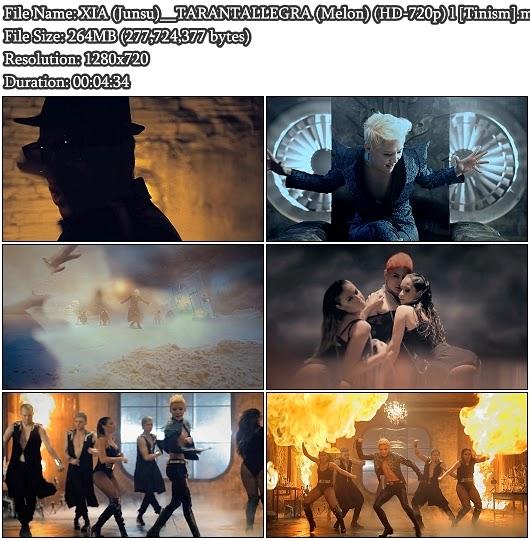 Download MV XIA (시아) / Junsu (준수) (JYJ) - TARANTALLEGRA (타란탈레그라) (Melon HD 720p)