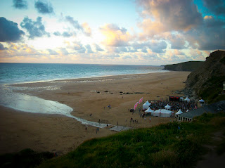 Electric beach live electric music festival in Cornwall