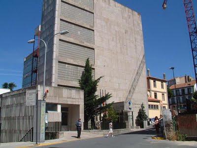 Fachada del hospital Virgen del CAstañar