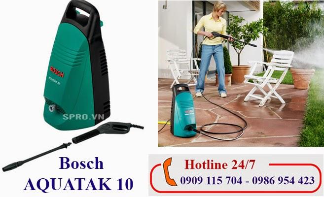 Máy rửa xe cao áp Bosch AQUATAK 10