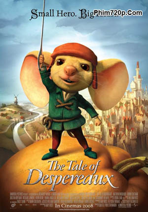 The Tale of Despereaux 2008 poster